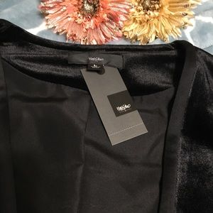 Mossimo Supply Co. Sweaters - Dressy Black Velvet Cardigan